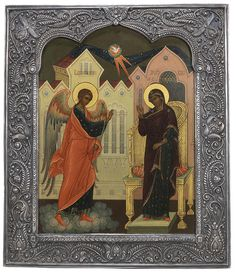The Annunciation (1st Moscow Artel, 1908–17)