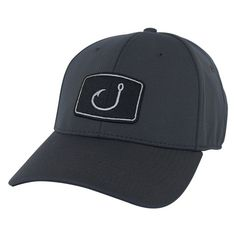 Avid Iconic Fitted Fishing Hat *Perfect for summer fishing!! – justforfishing.myshopify.com