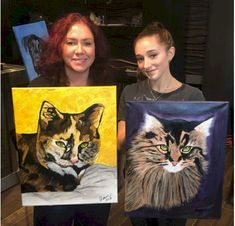 Learn how to paint in our Winnipeg Paint Your Pet classes Paint Your Pet, Free Fun, Paint Party, Learn To Paint, Dog Cat, Pets, Painting, Learn How To Paint, Painting Art