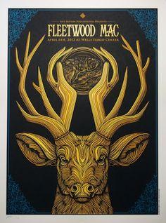 Fleetwood Mac Philadelphia Poster by Todd Slater On Sale