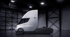Elon Musk Has Unveiled Tesla's All-Electric Semitruck