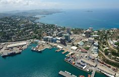 Port Moresby, Papua New Guinea.