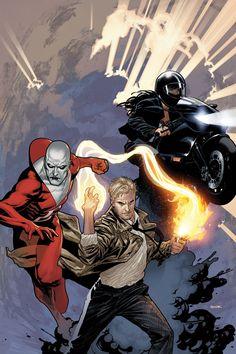 Dark Justice League - Zatanna, John Constantine, Deadman