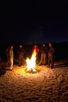 Bonfire party games