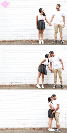 Engagement photo shoot idea