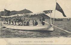 La trainera real (escampavía), para ir al Giralda o pasear por la bahía Old Photos, Antique Photos, Hipster Stuff, Old Pictures, Vintage Photos, Old Photographs