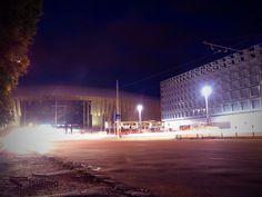 Night shooting in long exposure