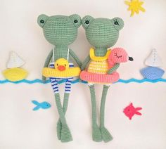 Excited to share the latest addition to my shop: Pattern: BETTY&BOB FROGS- Amigurumi Crochet Pattern Spiral Crochet, Crochet Frog, Crochet Amigurumi, Amigurumi Patterns, Cute Crochet, Crochet Dolls, Crochet Patterns, Crochet Hats, Amigurumi Doll