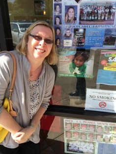 """""""My son and I went out today with 20 posters. The three first places could not help us, so we were a little worried,"""" Karin says. """"After that, we got a yes from almost any place we went. Twenty posters are out in my neighborhood in little more than one hour. """"  Thank you, Karin, for helping us hang ChildFund posters all over Dallas!"""