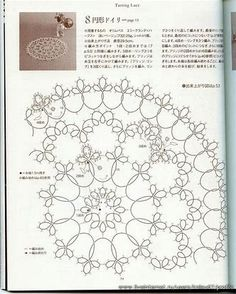 Image result for Free Tatting Pattern Diagram