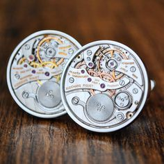 Audemars Piguet Cufflinks £5599 Watch Cufflinks, Audemars Piguet Watches, Royal Oak, Cool Suits, Unique Gifts, Dads, Husband, Personalized Items, Luxury