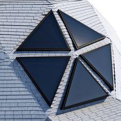 geodesic dome house c4d