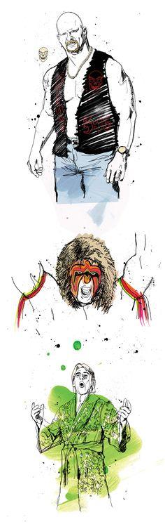 Ben Tallon   Illustrator   Illustration   Typography   Sports Illustrator   Editorial Design  