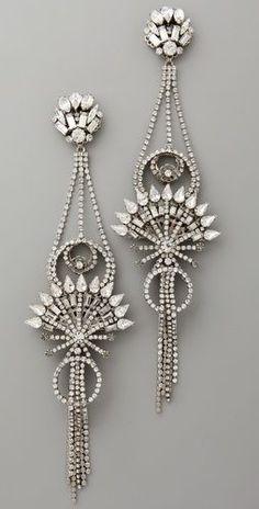 Art Deco Diamond Ear fashion love http://bestwomentopwatches.weebly.com/