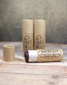 This merlot tinted lip balm recipe creates a super moisturizing tinted lip balm for lips that look and feel fabulous! Create your own in custom colors for your own personal style or give my own fun and flattering tinted lip balm recipe a try as is for a beautiful look perfect for parties or everyday wear. There are even free printable labels for gifting! (These make great DIY stocking stuffers!)