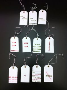 Stamp-a-Tag kit / Stampin Up
