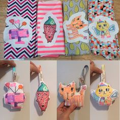 Kids fancy fabric craft  Drawing softy toy dolls