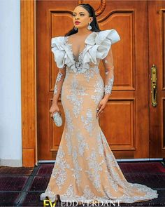 Wedding Dress Sleeves, Dresses With Sleeves, Wedding Dresses, Unique Ankara Styles, Inspired, Formal Dresses, Clothing, Fashion, Ribe