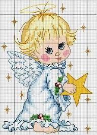 Картинки по запросу вышивка крестом ангелы