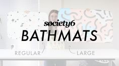 Bath Mats from Society6 - Product Demo