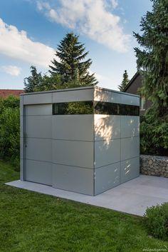 design gartenahaus @gart_zwei mit Schiebetüre - in Hennef, Germany ...