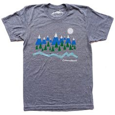 Image of Colorado Mountain Scene T-Shirt