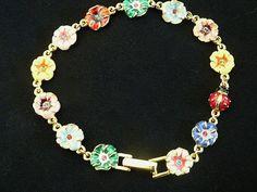 BESTSELLER  Joan Rivers Mini Flower Bracelet by SCLadyDiJewelry