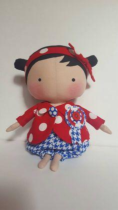 Tilda Sweetheart doll handmade cloth doll 12 by LaShellesBelles