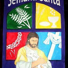 Semana Santa. Cartelera escolar. 99x66 cms.  #misdibujos #cosasquehago #semanasanta #semanasanta2018 #holyweek #Jesús #jesucristo #Dios #HijodelPadre #crucifixión #pasiondejesus.