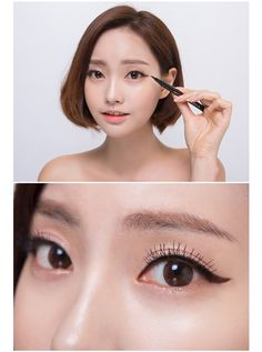 #korean #makeup #eyeliner