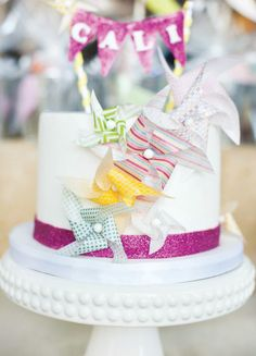 pinwheel party ideas | ... Party Ideas > SWEET & Colorful Pinwheel Party {Joint Birthday