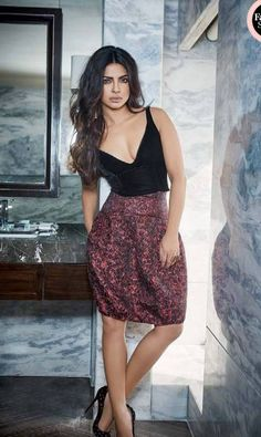 Global Icon Priyanka Chopra Features on Filmfare Magazine Oct 2016 - PintoPin Actress Priyanka Chopra, Priyanka Chopra Hot, Beautiful Bollywood Actress, Indian Bollywood, Western Dresses, Bollywood Celebrities, Indian Girls, Sexy Hot Girls, Indian Beauty