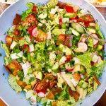 "Fattoush+–+salata+""cu+toate+legumele""+din+Liban"