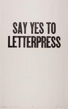 ian coyle letterpress - hard to choose one