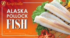 Alaska Pollock, also popularly known as walleye Pollock at Frozen Sea Food