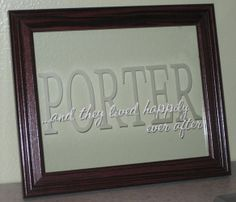 use glass etching and vinyl with the help of my silhouette cameo