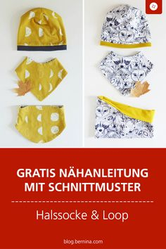 halssocke-und-loop-fur-kleinkinder-tutorial-mit-freebie/ - The world's most private search engine Toddler Sewing Patterns, Hat Patterns To Sew, Sewing For Kids, Free Sewing, Diy For Kids, Little Doll, Little Girls, Sewing Clothes, Diy Clothes