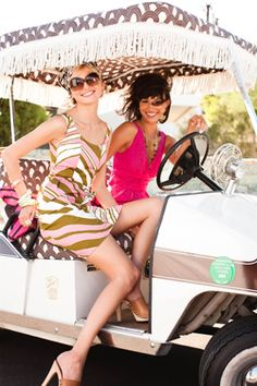 Trina Turk anything!   Love the swimsuits especially, but these dresses rock!