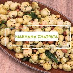 Makhana Chatpata Recipe | Foxnuts Snack Recipe Follow @thebriskkitchen Ingredients Makhana - 250 gms Vegetable oil - 1 tablespoon…