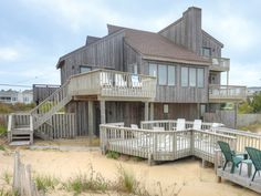 Z - Mar is a Oceanfront Sandbridge rental with 6 bedrooms and 3 bathrooms. Find amenities, availability and more regarding this Siebert Realty rental property here.