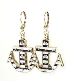 Amazon.com: Betsey Johnson Jewelry IVY LEAGUE Anchor Dangle Earrings New 2013: Jewelry