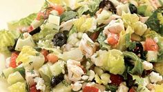 Chopped Greek Salad with Chicken  Healthy Recipes, Healthy Eating, Healthy Cooking | Eating Well