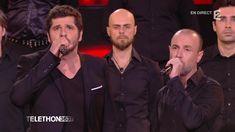 """Patrick Fiori chante """"Sinfunia Nustrale"""" et """"Corsica"""" pour le Téléthon 2..."""