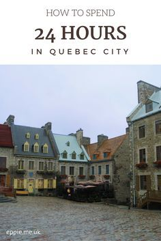 How to spend 24 hours in Quebec City, Canada. Don't miss Chateau Frontenac, the Old Town and Place Royale! Read more at http://eppie.me.uk/travel/how-to-spend-24-hours-in-quebec-city/
