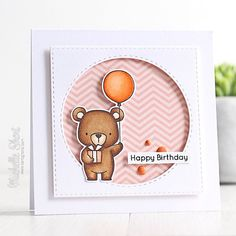 Over on my blog: my little @mftstamps cutie coloured from the other day made into a card  #cardmaking #mftstamps