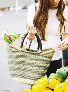 everyone needs a summer beach bag {by The Little Market}