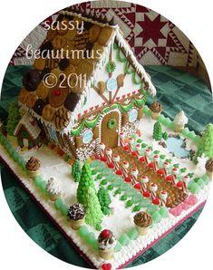 gingerbread house  #gingerbread   #gingerbreadhouse