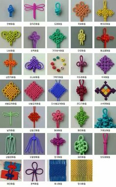 Types Of Knots Chinese Decorative