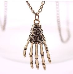 Hand Skeleton Necklace ~NEW~