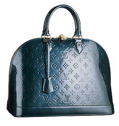 28c49af82155 Louis Vuitton Outlet Online Monogram Vernis Alma MM Louis Vuitton s new  season handbags.